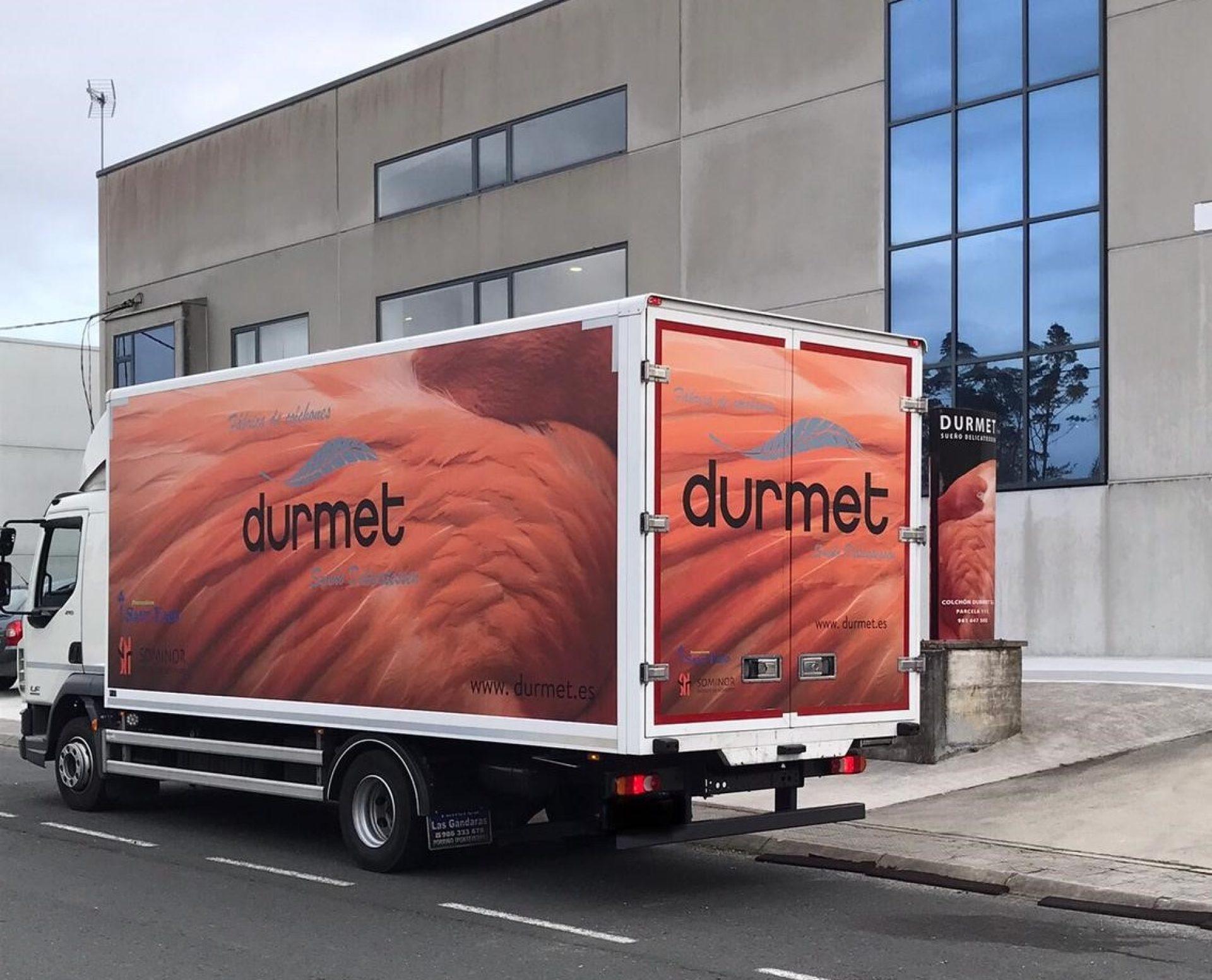 camión durmet